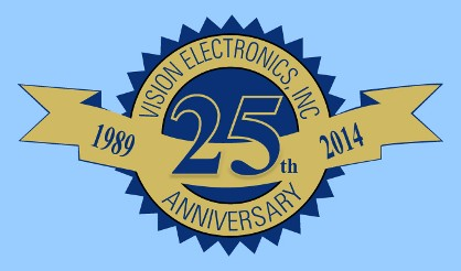 Vision Electronics, Inc. 25th Anniversary